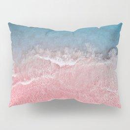 Bahamas pink blue Pillow Sham