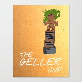 Friends 20th - Geller Cup Canvas Print