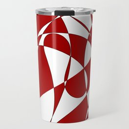 Abstract doodle Travel Mug