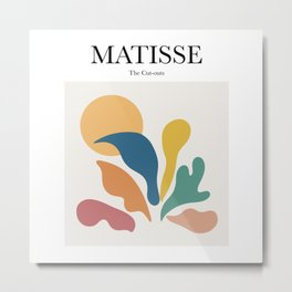 Matisse - The Cut-outs Metal Print