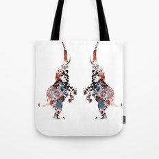 Dancing Elephants Tote Bag