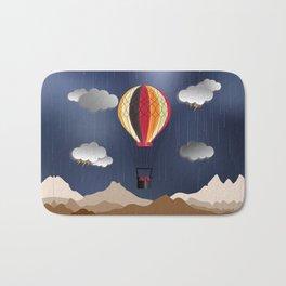 Balloon Aeronautics Rain Bath Mat
