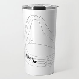 This Is Real Art! - the Fountain by R. Mutt 1917 Travel Mug