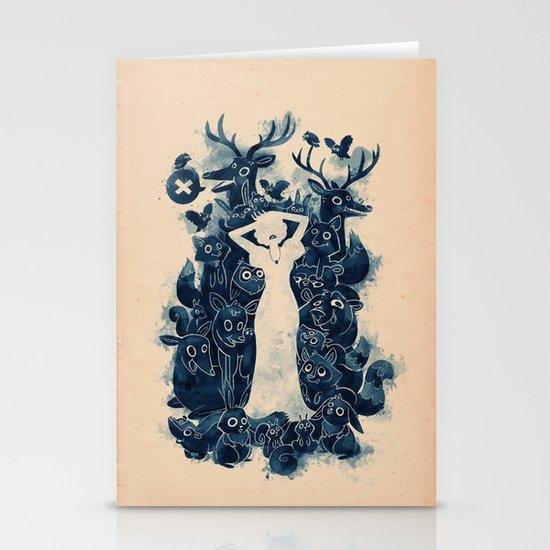Dark Forest Stationery Cards