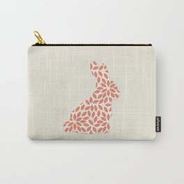 Cute Red Rabbit Carry-All Pouch