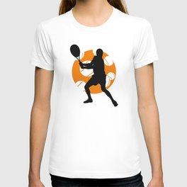TENNIS Clay Backhand Balls T-shirt