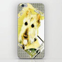 Wheaten Scottish Terrier - During Sickness and Health iPhone Skin
