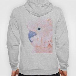 Pink Cockatoo Portrait Hoody