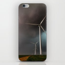 Wind Farm - Renewable Energy on the Texas Plains iPhone Skin