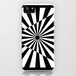 Optical Art Triangle iPhone Case