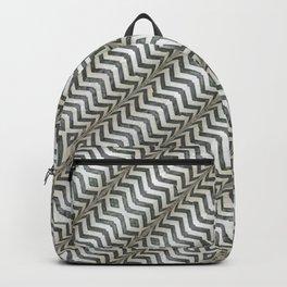 Diagonal Striped Print Pattern Backpack