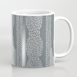 Cable Greys Coffee Mug