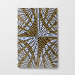 Basket weaving 101... Metal Print