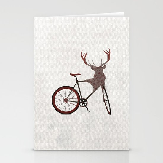 Stag Bike Stationery Cards