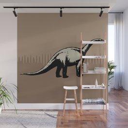 ChocoPaleo: Brontosaurus Wall Mural