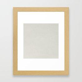 White leather texture Framed Art Print