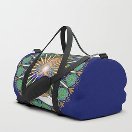 Divine Spark Mandala Duffle Bag