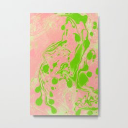 Blush + Greenery #society6 #decor #buyart Metal Print