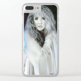 'Stevie Nicks' Clear iPhone Case