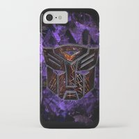 transformers iPhone & iPod Cases featuring Autobots Abstractness - Transformers by DesignLawrence
