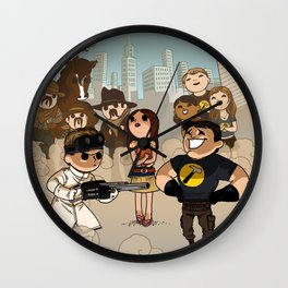 Tribute to Doctor Horrible Wall Clock