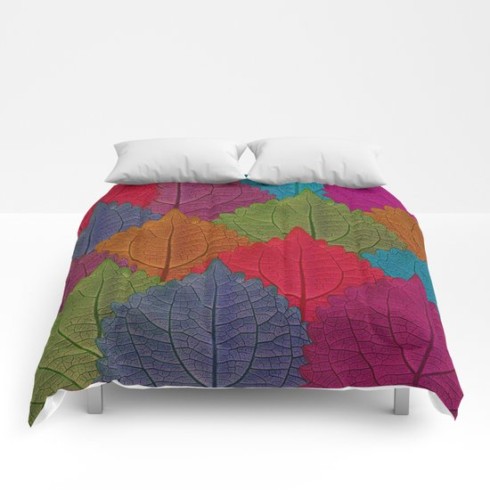 Leaves Forest Comforters