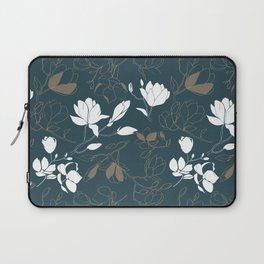 Magnolia flowers Laptop Sleeve
