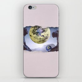 Untimely Ripped Voyeur Views: The World is in Our Hands iPhone Skin