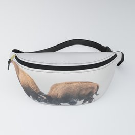 Butting Heads Fanny Pack