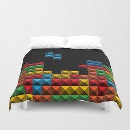 Tetris Blocks Duvet Cover