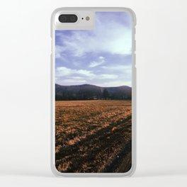 Back Roads Clear iPhone Case