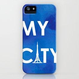 MyCity-Tokyo-BlueA iPhone Case