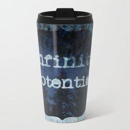 Infinite Potential Logo Metal Travel Mug