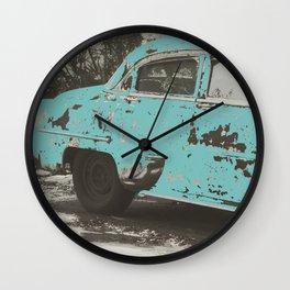 True Blue Friend Wall Clock
