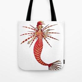 Lionfishmaid Tote Bag