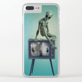 Telecommunication Clear iPhone Case