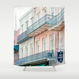 French Quarter, New Orleans Travel Photography Shower Curtain