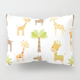 Giraffes Pillow Sham