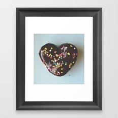 Sweet Heart Framed Art Print