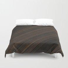 Ebony Macassar Wood Duvet Cover