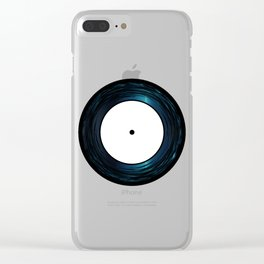 Seven Inch Vinyl Clear iPhone Case
