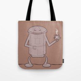 Coffee Robot Tote Bag