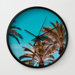West coast, fresh coast Wall Clock
