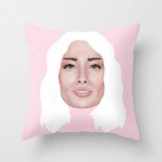 Arielle Vandenberg Throw Pillow