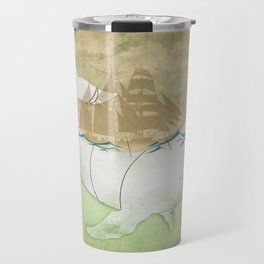 The ghost of Captain Ahab, Moby Dick Travel Mug