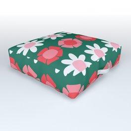 Peggy Green Outdoor Floor Cushion