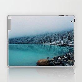 Clouds over Lake Louise Laptop & iPad Skin