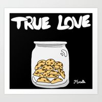 cookies Art Prints featuring Cookies by Firielle