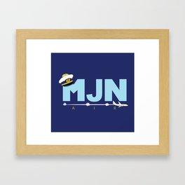 MJN Air Framed Art Print