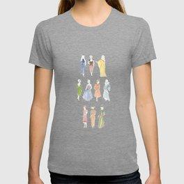 Vintage Dresses through Decades T-shirt